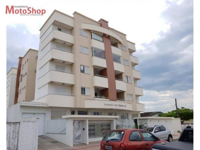 Apartamento com 2 dormitórios para alugar, 83 m² por r$ 1.000/mês - mato alto - araranguá/