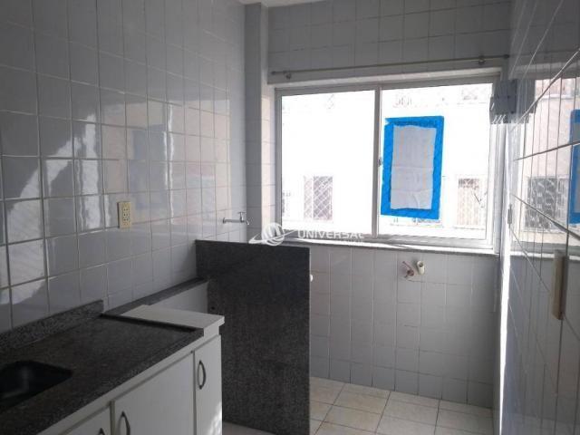 Apartamento com 2 dormitórios para alugar, 55 m² por r$ 700/mês - bandeirantes - juiz de f - Foto 11