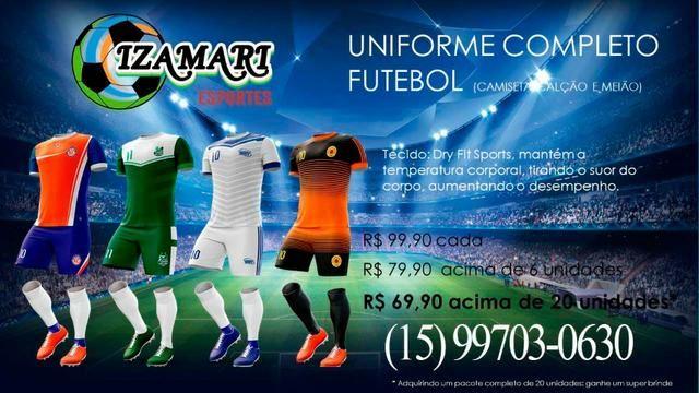 c1362cd9f8 Uniforme de Futebol   Uniformes Esportivos   Camiseta de Futebol   Time  Amador   Várzea