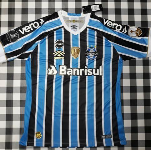 Camisa Grêmio Tricolor 30b2d04bab4a5