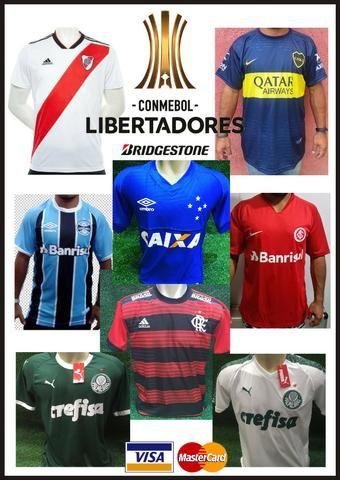Camisa Libertadores2019 Oficial   Palmeiras a7872d81092cf