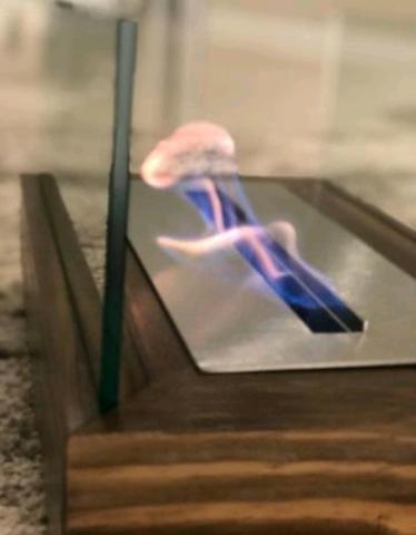 Lareira Ecológica 50cm Álcool/Etanol Completa - Queimador Inox