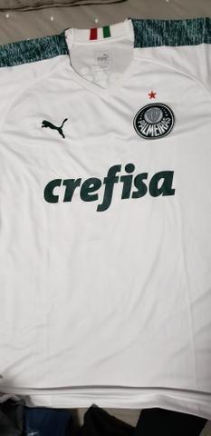 42130117ec8a8 Camisa Oficial Palmeiras Branca Puma Nova - Esportes e ginástica ...