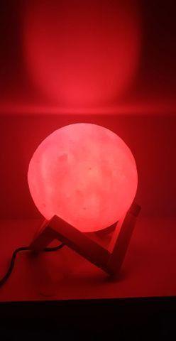 Luminária de lua - Foto 4