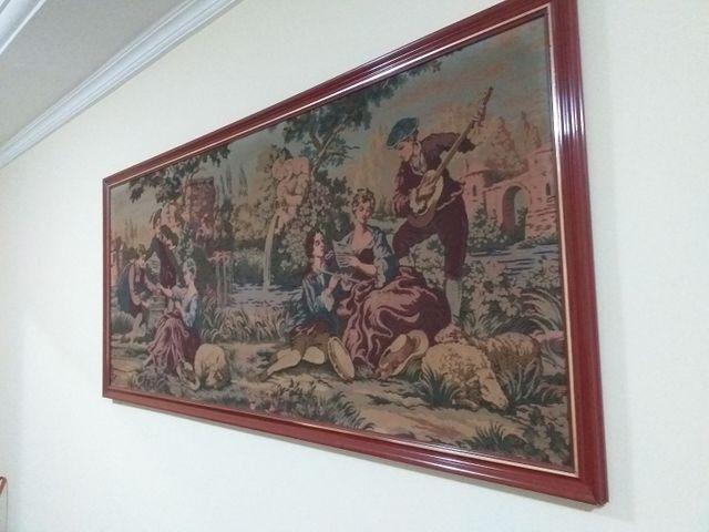 Quadro em tapeçaria GOBELIN - Foto 5