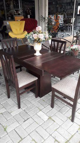 Mesas elástica madeira maciça - Foto 2