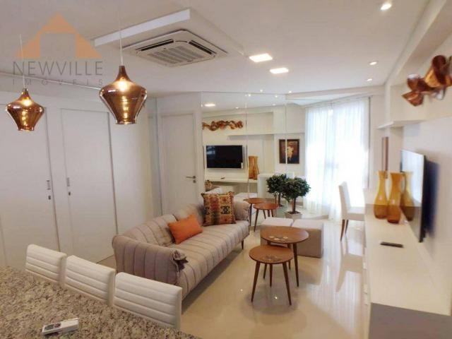 Apartamento com 2 quartos à venda, 34 m² por R$ 820.819 - Avenida Boa Viagem - Recife