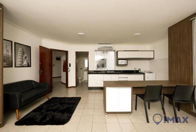 Apartamento com 1 dormitório para alugar, 45 m² por R$ 1.500,00/mês - Centro - Foz do Igua - Foto 17