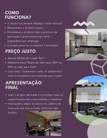 Reforme sua Casa com Engenheira Arquiteta. Fazemos Projetos. Preco Justo - Foto 2