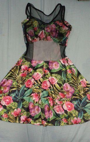 Vestido de flores
