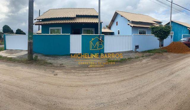 Casas lindas em Unamar/ Cabo Frio- Feirão de casas Micheline Barros.