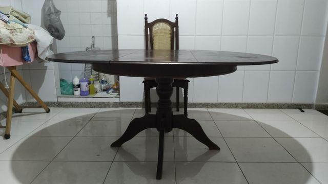 Mesa em madeira maciça - Foto 3
