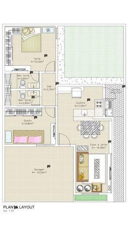 Vende- se Residencial Milenium Casas modernas de 2 e 3 quartos - Foto 12