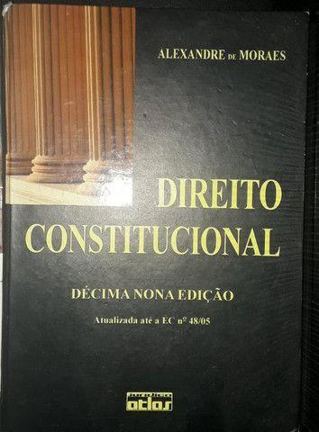 Livros de Constitucional, Administrativo e Inglês - Foto 3