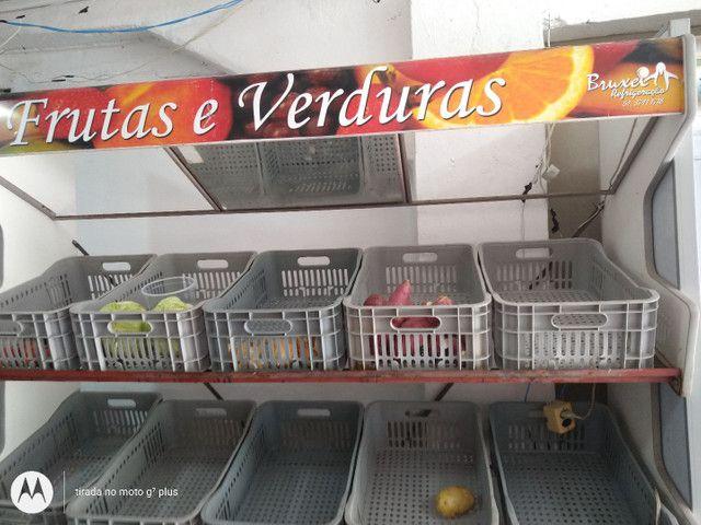 Expositor de verduras. Legumes