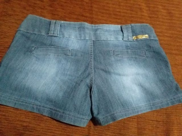 Short jeans Tam 44 - Foto 2