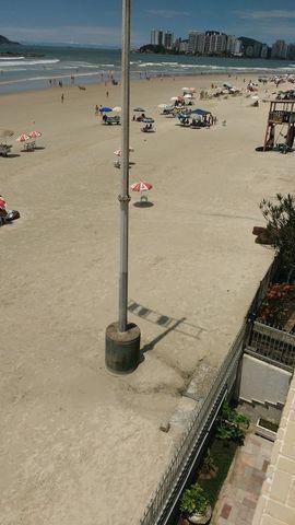 Alugo apto Guarujá, Pe na areia R$5.800,00 (Pacote) - Incomparavel - Foto 16