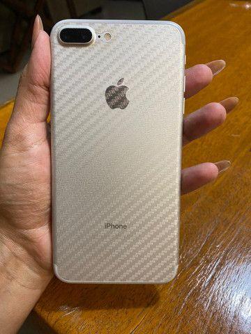 IPhone 7 Plus prata 128GB - Foto 3