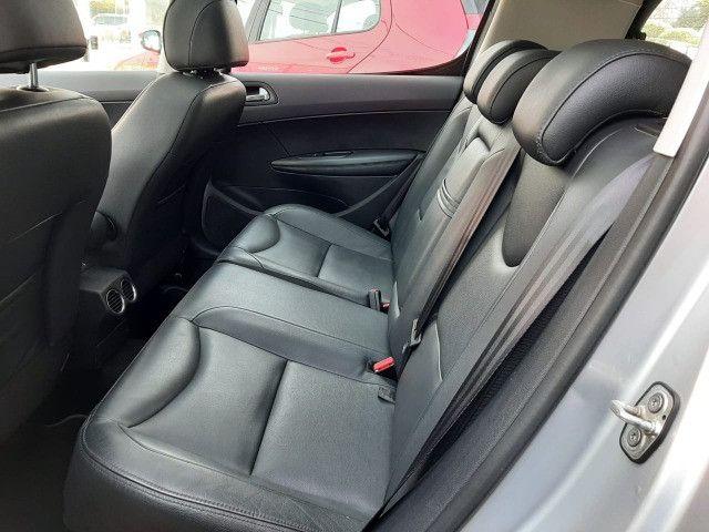 Ent. 50% + 48x 799,00 - Peugeot 308 Griffe THP 1.6 2014 - Só 60.000km - Foto 8