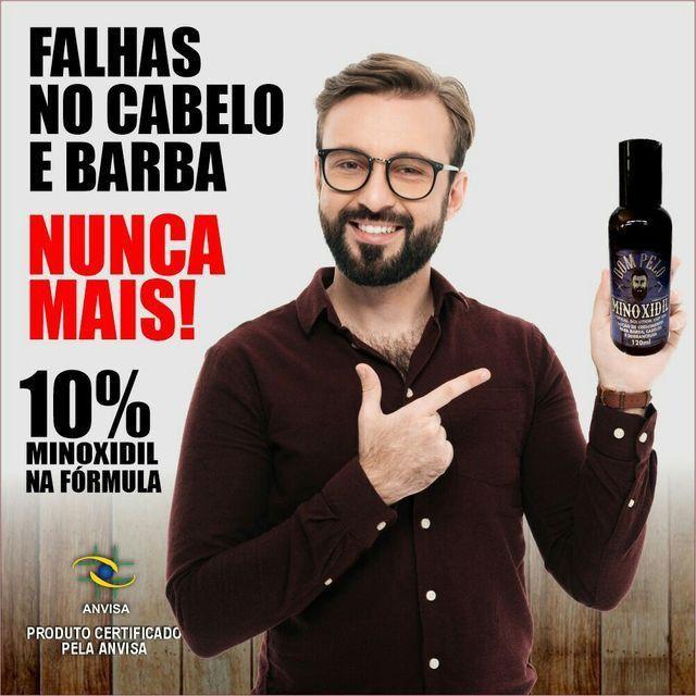 Minoxidil 120ml 10% na fórmula entrega grátis para toda natal 60 reais uni. - Foto 2