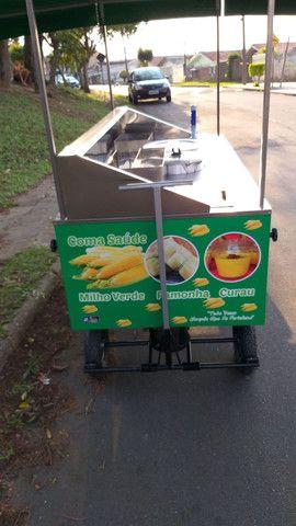 Carrinho de milho verde curau e pamonha  novo personalizados  - Foto 5