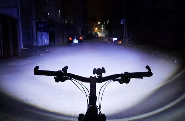 Lanterna Farol Bike Bicicleta 3 Leds T6 Recarregável Usb - Foto 5