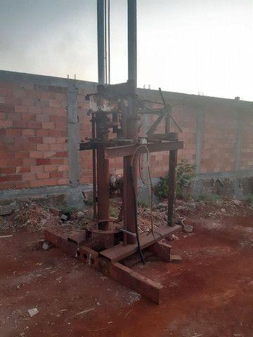Máquina de Brunir pistão hidráulico ou furar poço artesiano - Foto 5