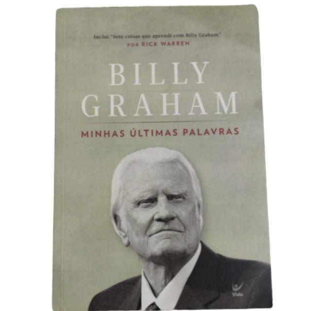 Livro minhas últimas palavras billy graham