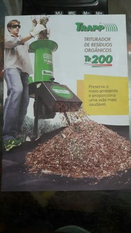Triturador de organicos bivolt - oportunidade