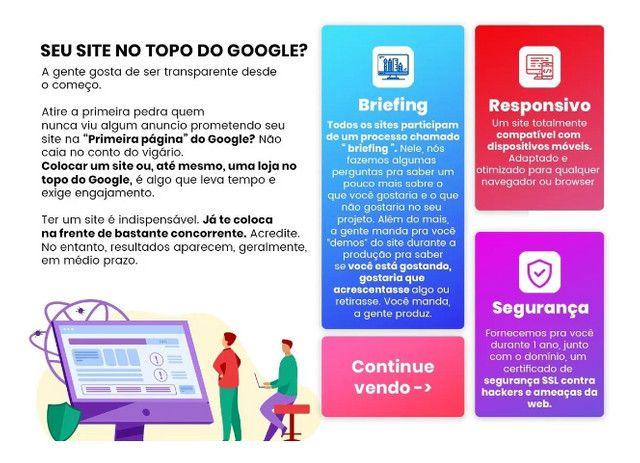 Criação de sites / lojas + benefícios - Foto 2