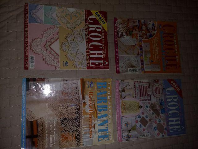 Revistas de crochê variadas - Foto 5