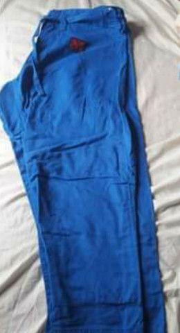Kimono azul adulto  - Foto 2