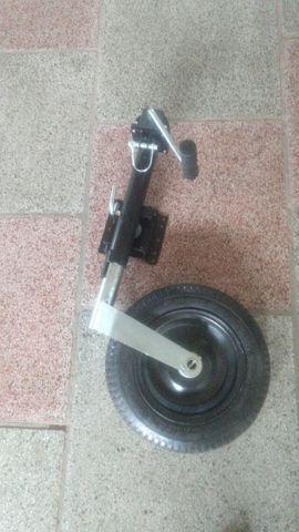 Suporte ,levante com roda para reboque , carretinha,  trailer