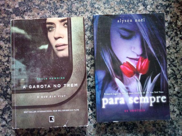 """Livros """"para sempre"""" e """"a garota no trem"""""""