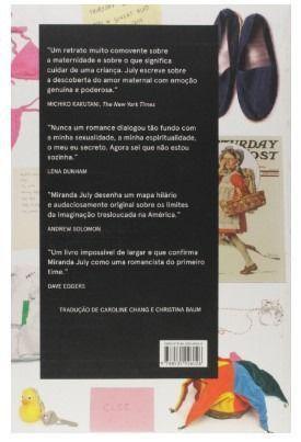 """Livro """"O Primeiro Homem Mau"""" de Miranda July - Novo, capa comum - Foto 3"""