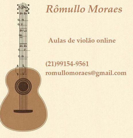 Aulas de violão online