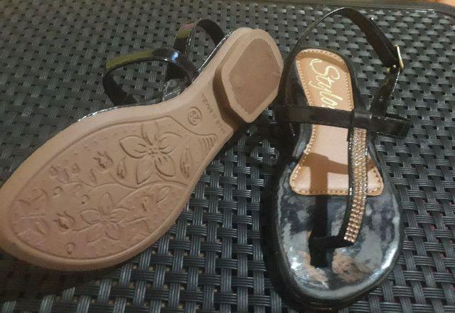 Kit sapatos infantil novo 60$os 2pares!! - Foto 2