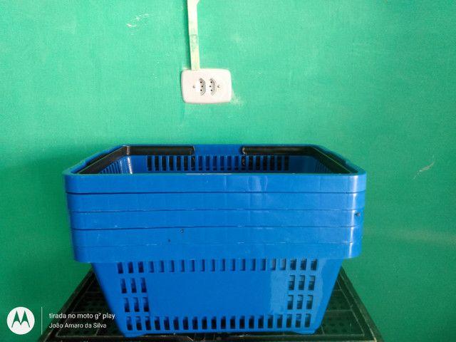 Vendo cesta para supermercados