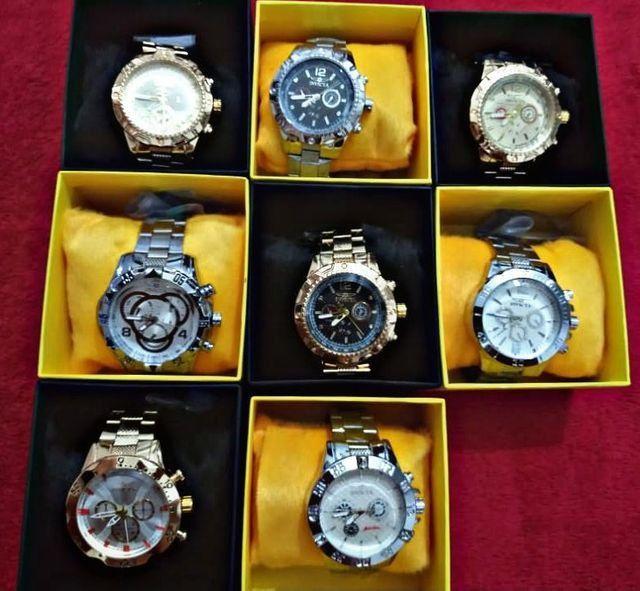 Relógios masculinos luxuoso