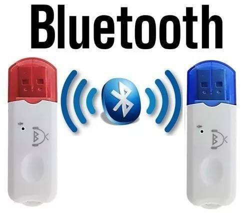 Adaptador Usb Bluetooth Musica Carro Celular Áudio Som Radio