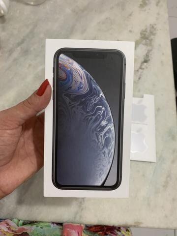 IPhone XR 64gb preto garantia Apple
