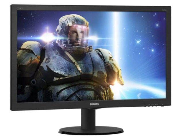 PC Gamer / Workstation SSD I5 6Mb 3.3GHz 16Gb RAM + Monitor 21,5 Full HD - Foto 4