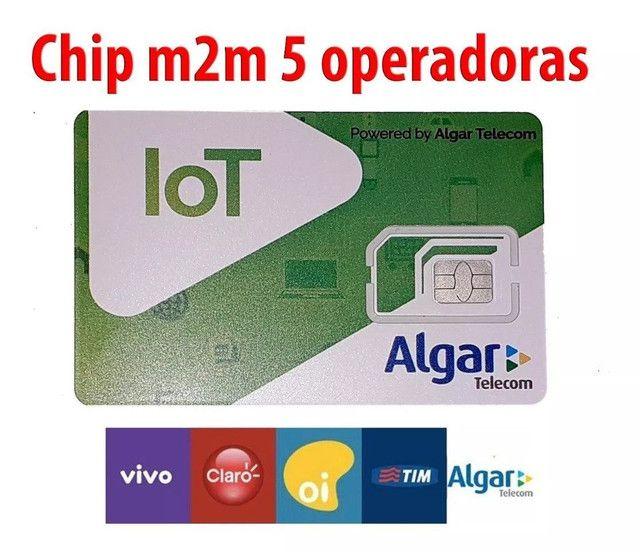 Chip M2M multi operadora