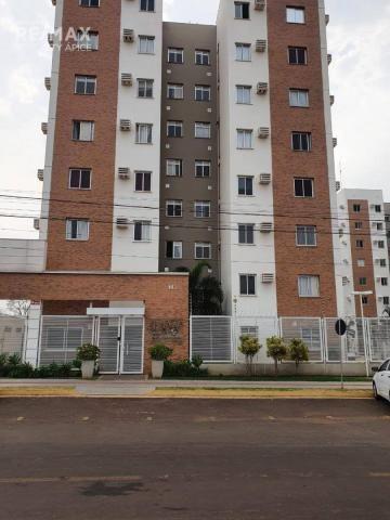 Apartamento com 3 dormitórios à venda, 67 m² por R$ 350.000,00 - Tiradentes - Campo Grande