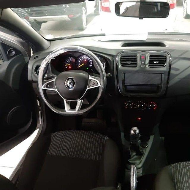 Renault Logan Life 1.0 2020 Flex - Foto 5