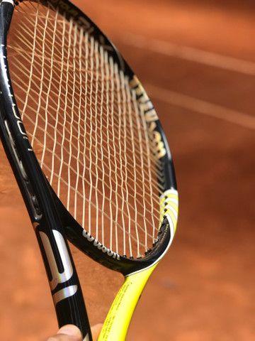 Raquete blz pro tour, muito boa de jogar feita especialmente para del potro, - Foto 5