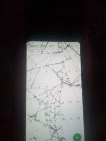 S9 +plus 128G pra trocar cm tela trincada - Foto 2