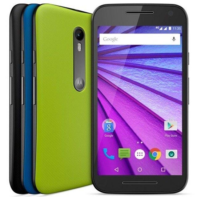 Smartphone Motorola Moto G3 Colors HDTV 16GB 4G Dual Chip