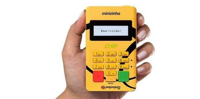 Máquina e Cartão Pagseguro