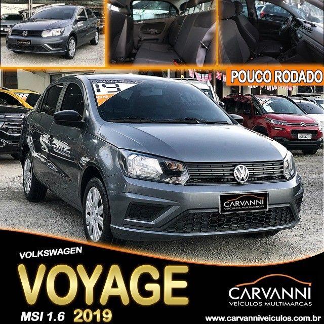 Volkswagen Voyage 1.6 MSI 2019 Com GNV